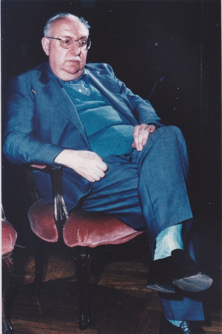 Giorgio Manganelli negli anni Settanta. Archivio Lietta Manganelli