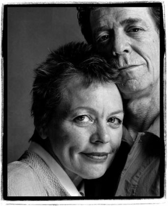 Guido Harari, Lou Reed e Laurie Anderson