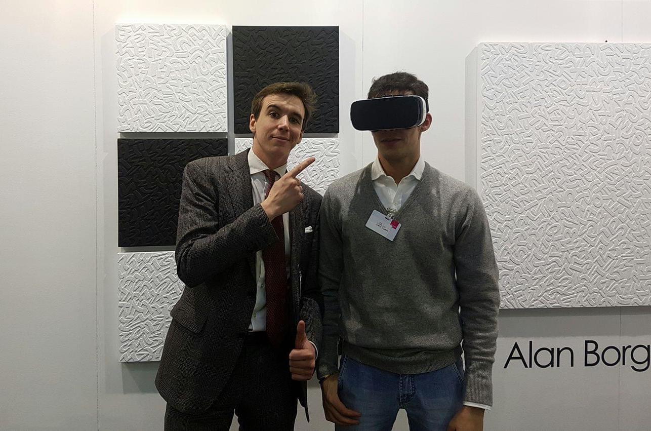 La startup Wide VR