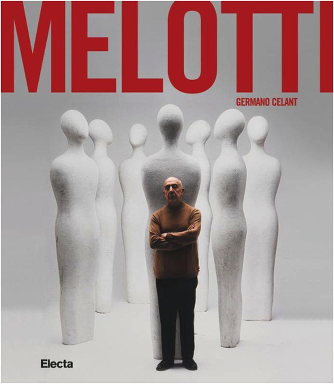 Il catalogo della mostra di Melotti al Madre di Napoli curata da Germano Celant