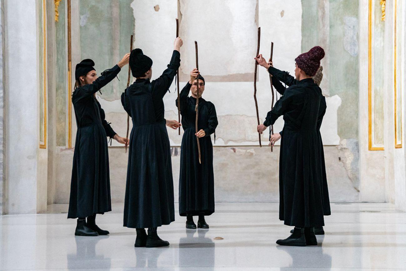 Ipercorpo 2019. Societas Raffaello Sanzio, Trattamento delle Onde. Photo Gianluca Camporesi