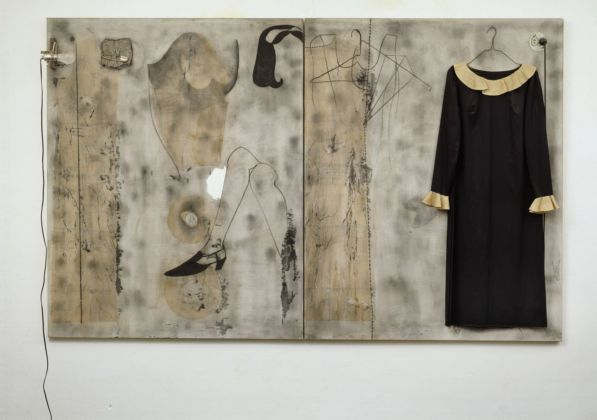 Jim Dine, British Joys (A Pictures of Mary Quant), 1965. Collezione Agnes & Frits Becht, Paesi Bassi. Photo © Tom Haartsen