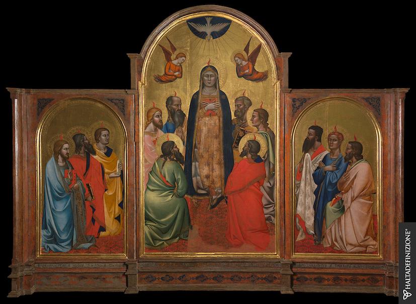 Pala di Andrea Orcagna - Galleria dell'Accademia di Firenze - ph. Haltadefinizione