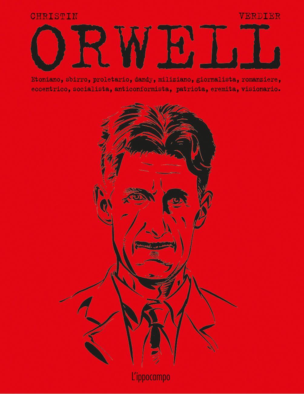 Pierre Christin & Sébastien Verdier – Orwell (L'Ippocampo, Milano 2020) _cover