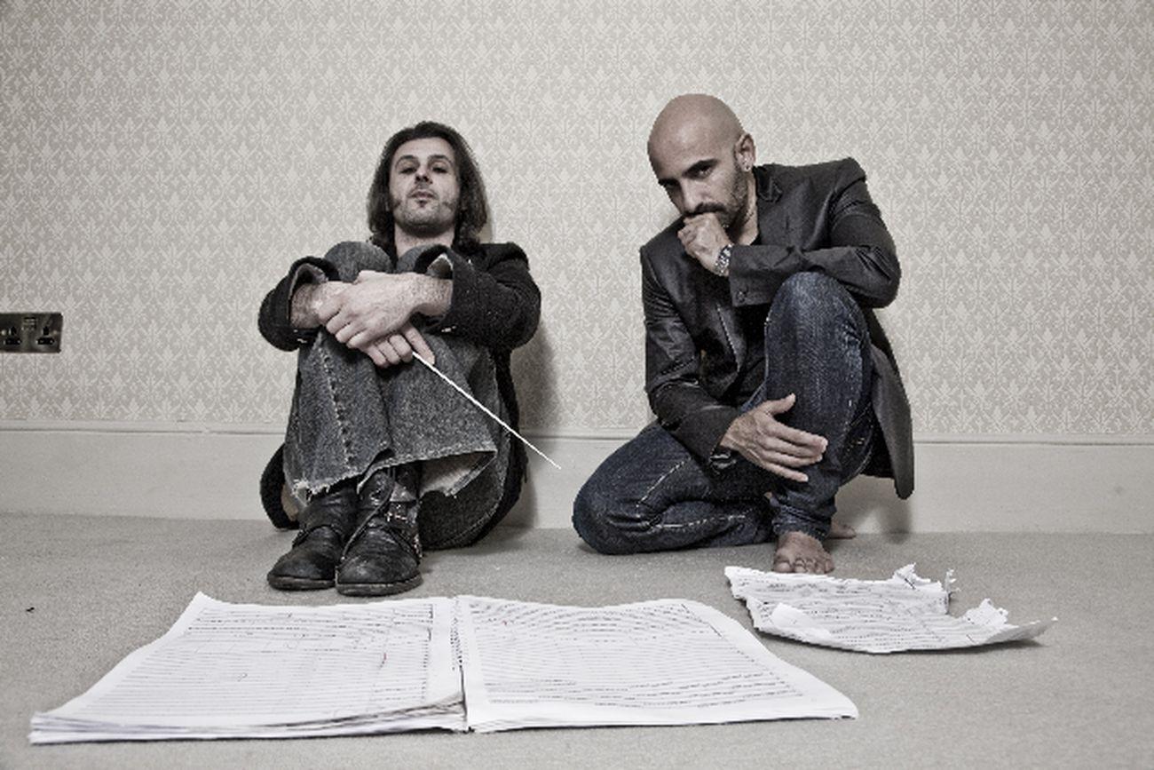 Rafael Bonachela ed Ezio Bosso. Photo A. Sgambati