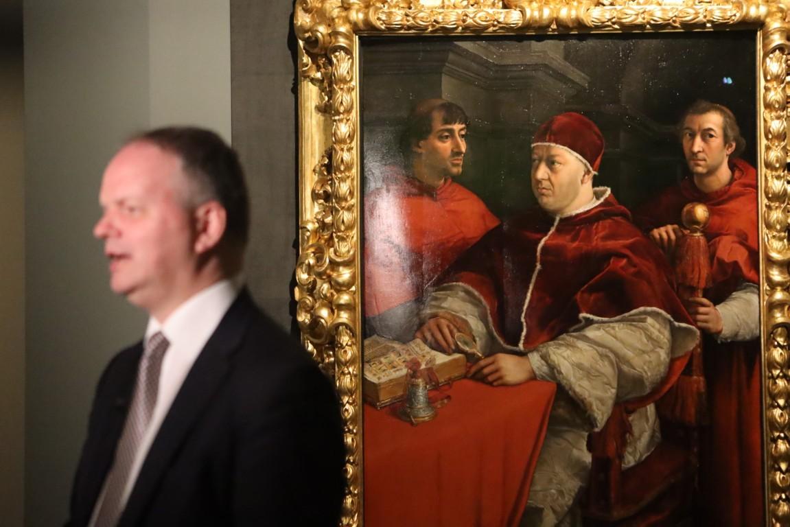 Raffaello 1520 1483. Exhibition view at Scuderie del Quirinale, Roma 2020. Photo Maurizio Isidori