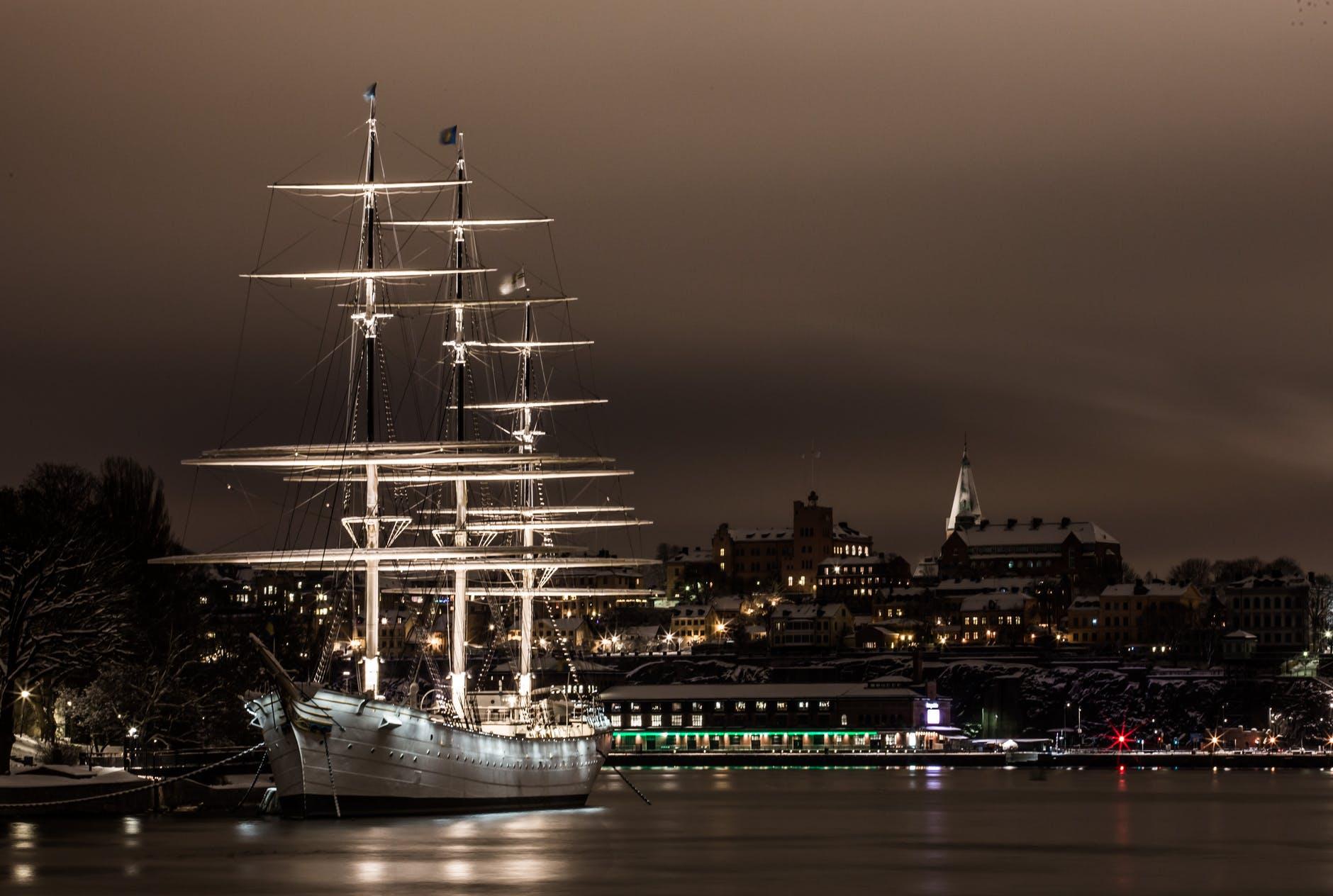 Sailboat Water Stockholm Ship via pexels