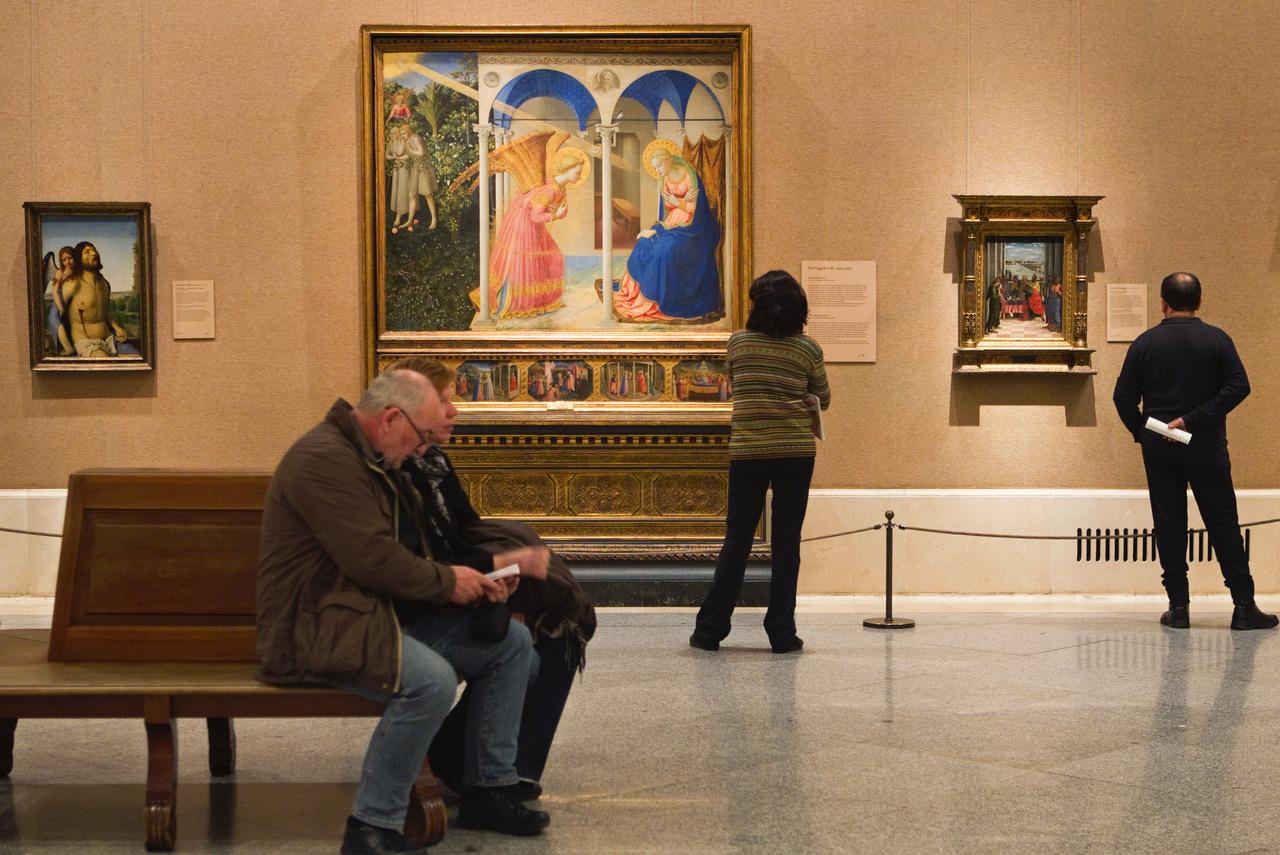 Museo del Prado, Madrid, Sala 56B, pittura italiana al Prado. Copyright Museo del Prado