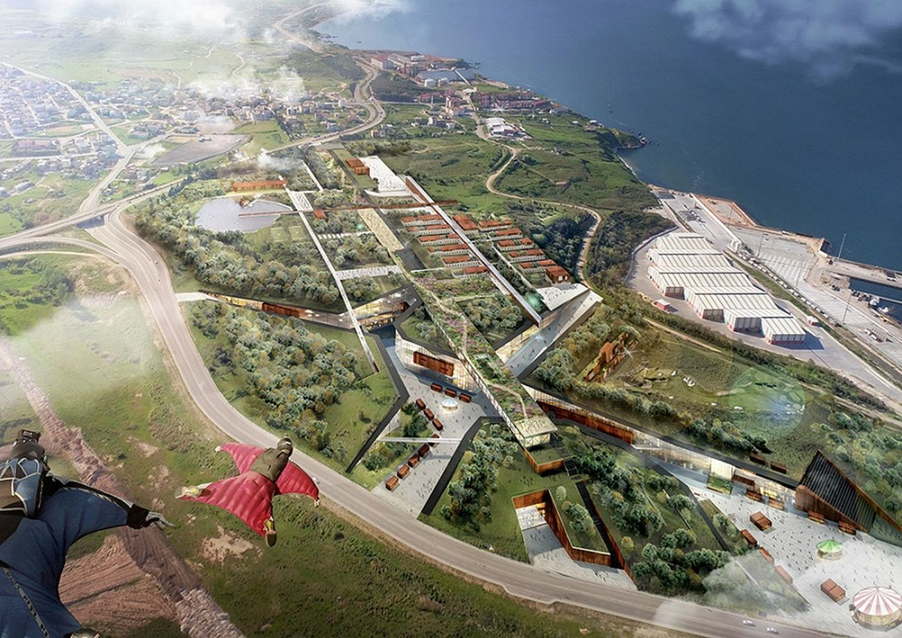 TARI Architects © Bandirma park 3rd Prize, Bandirma