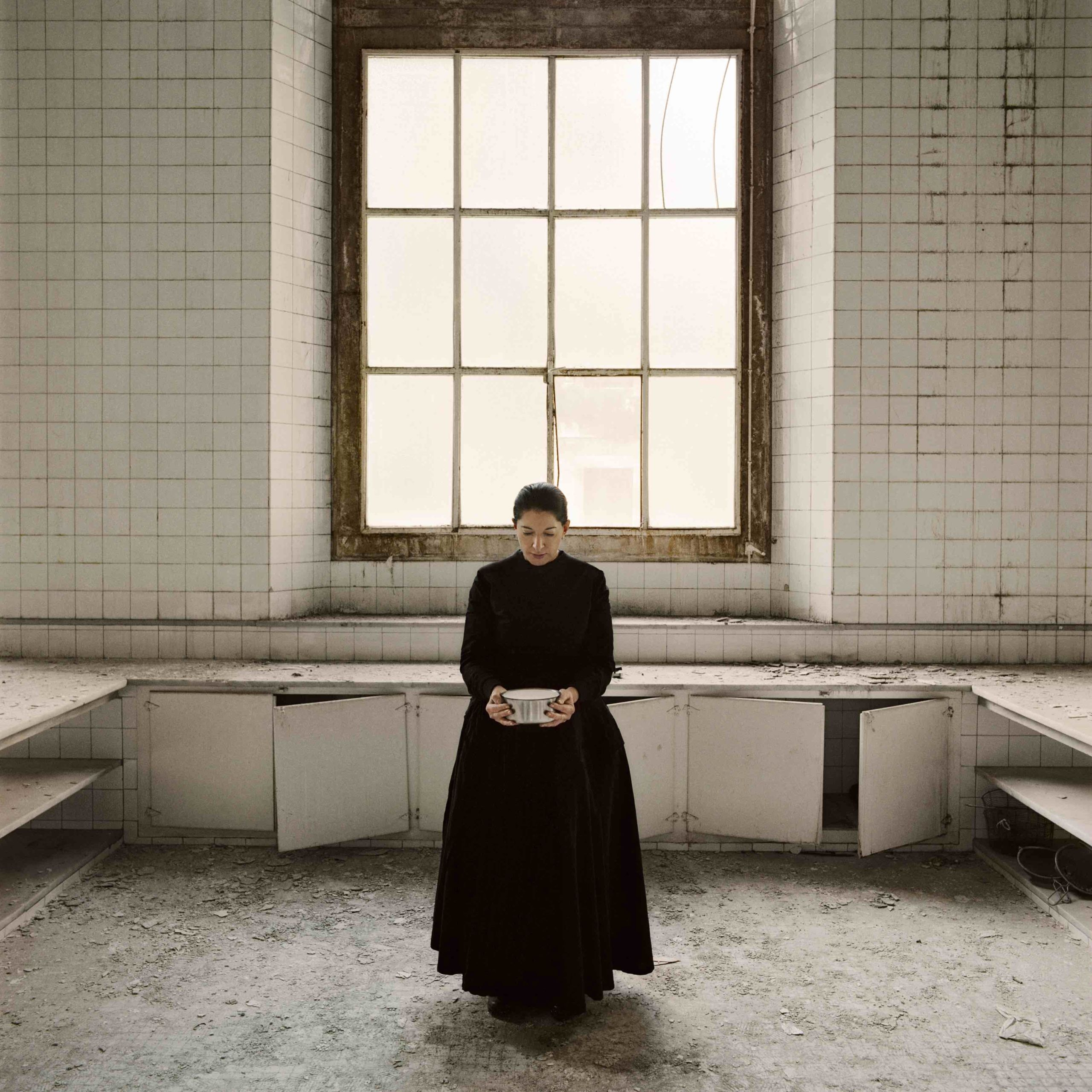 Marina Abramović, The Kitchen. Homage to Saint Therese