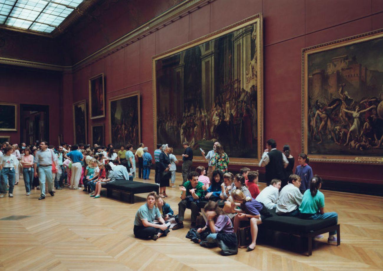 Thomas Struth, Louvre 1, Paris (1989) © Thomas Struth