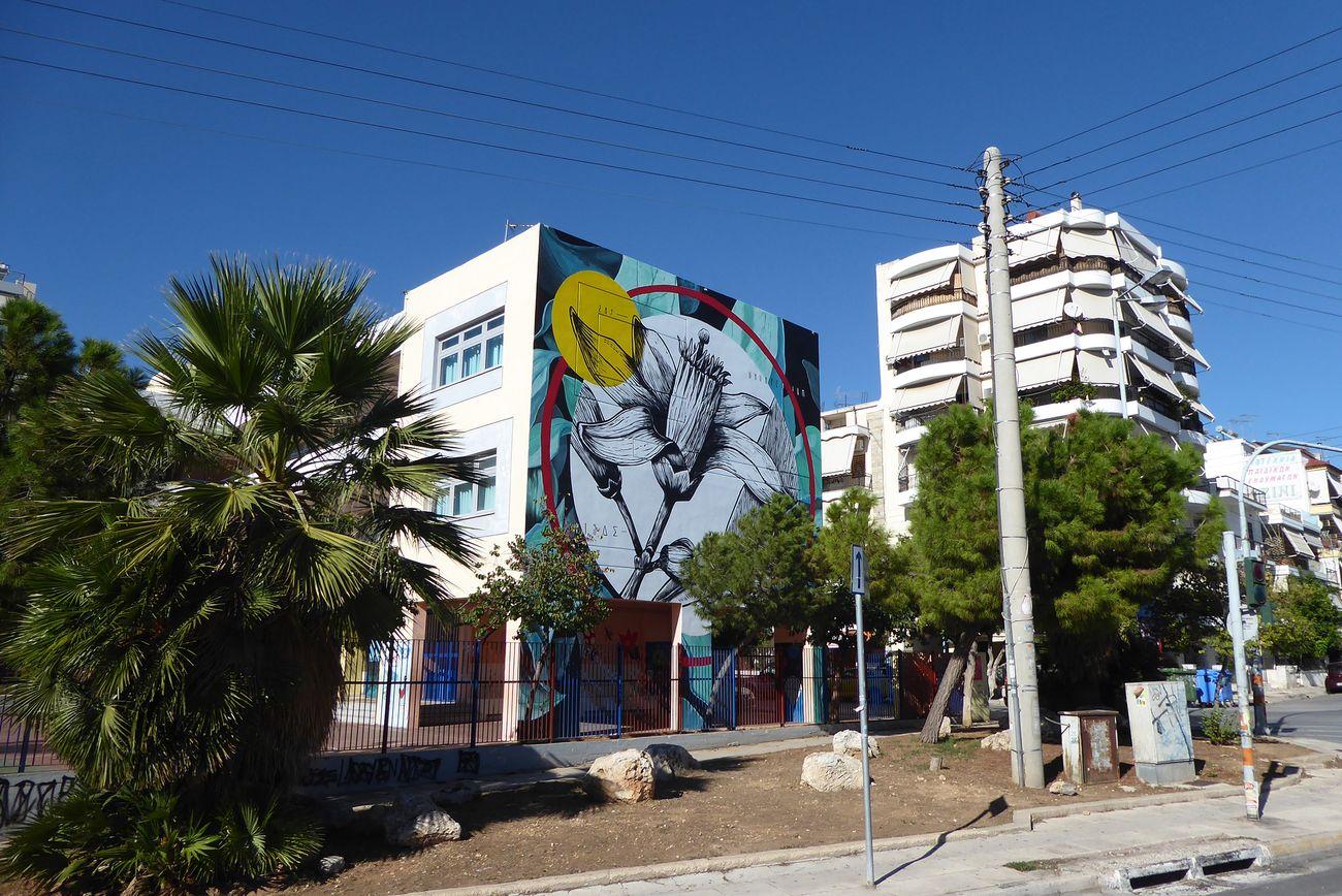 Ununpentium & Citrus Limon © Athens Street Art Festival, Atene 2017