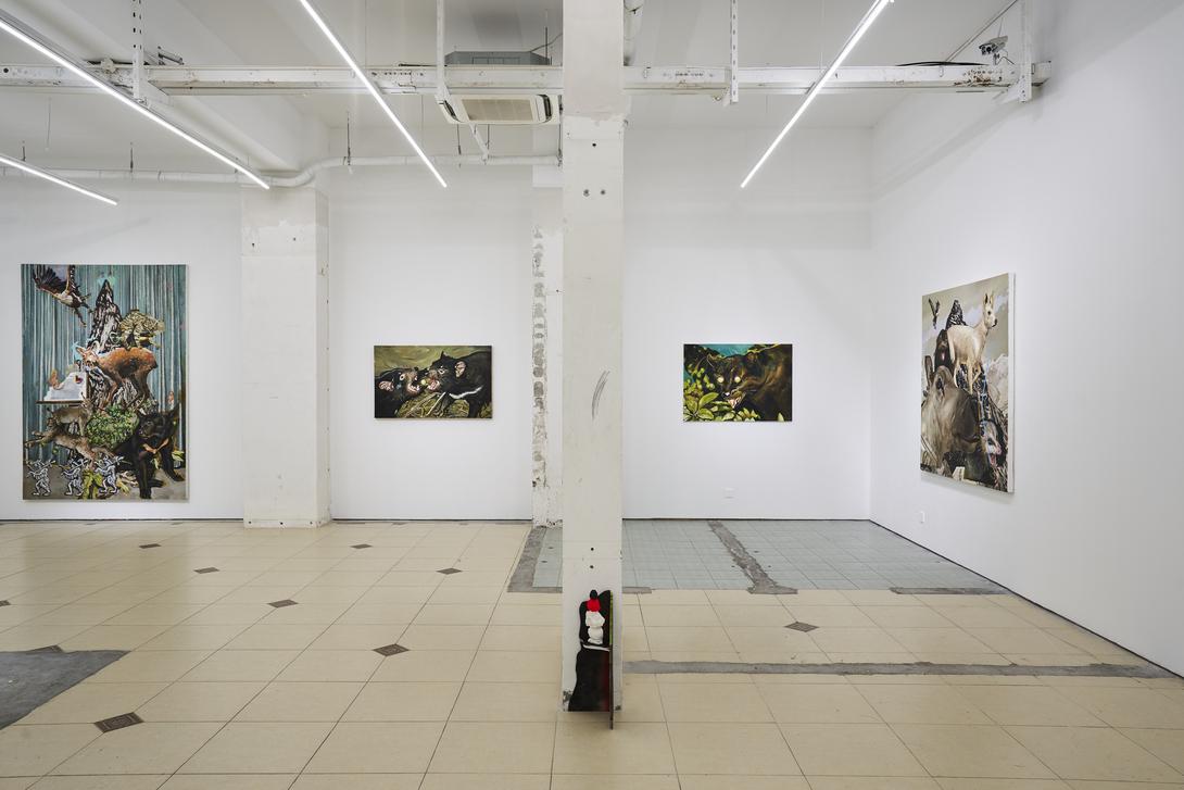 Bank Gallery Shanghai, Installation view