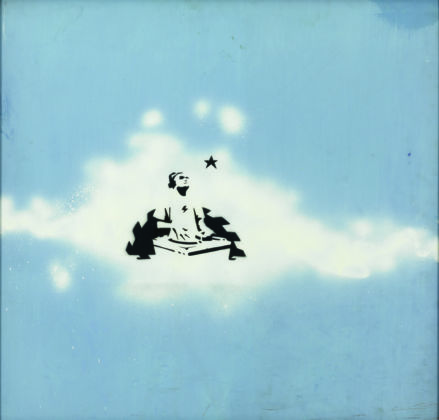 Banksy, Cloud DJ 1998 1999 Brentwood, Brandler Galleries, BGi30