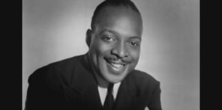 Coount Basie portrait to camera