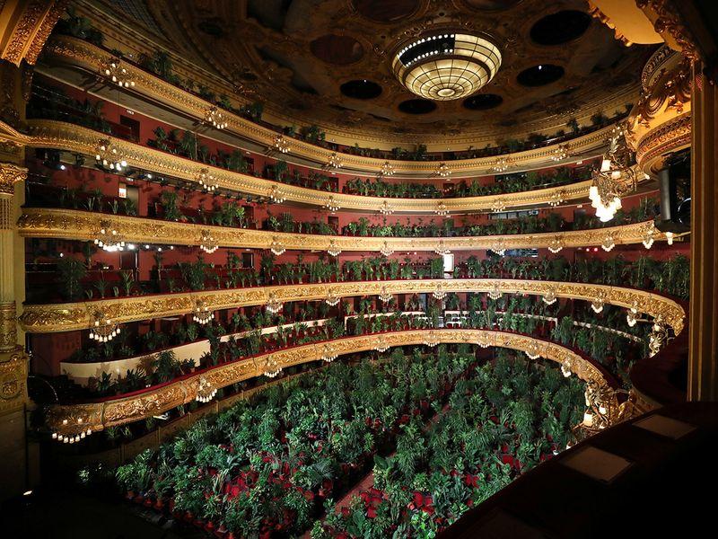 Concierto para el Bioceno, Teatro dell'opera di Barcellona