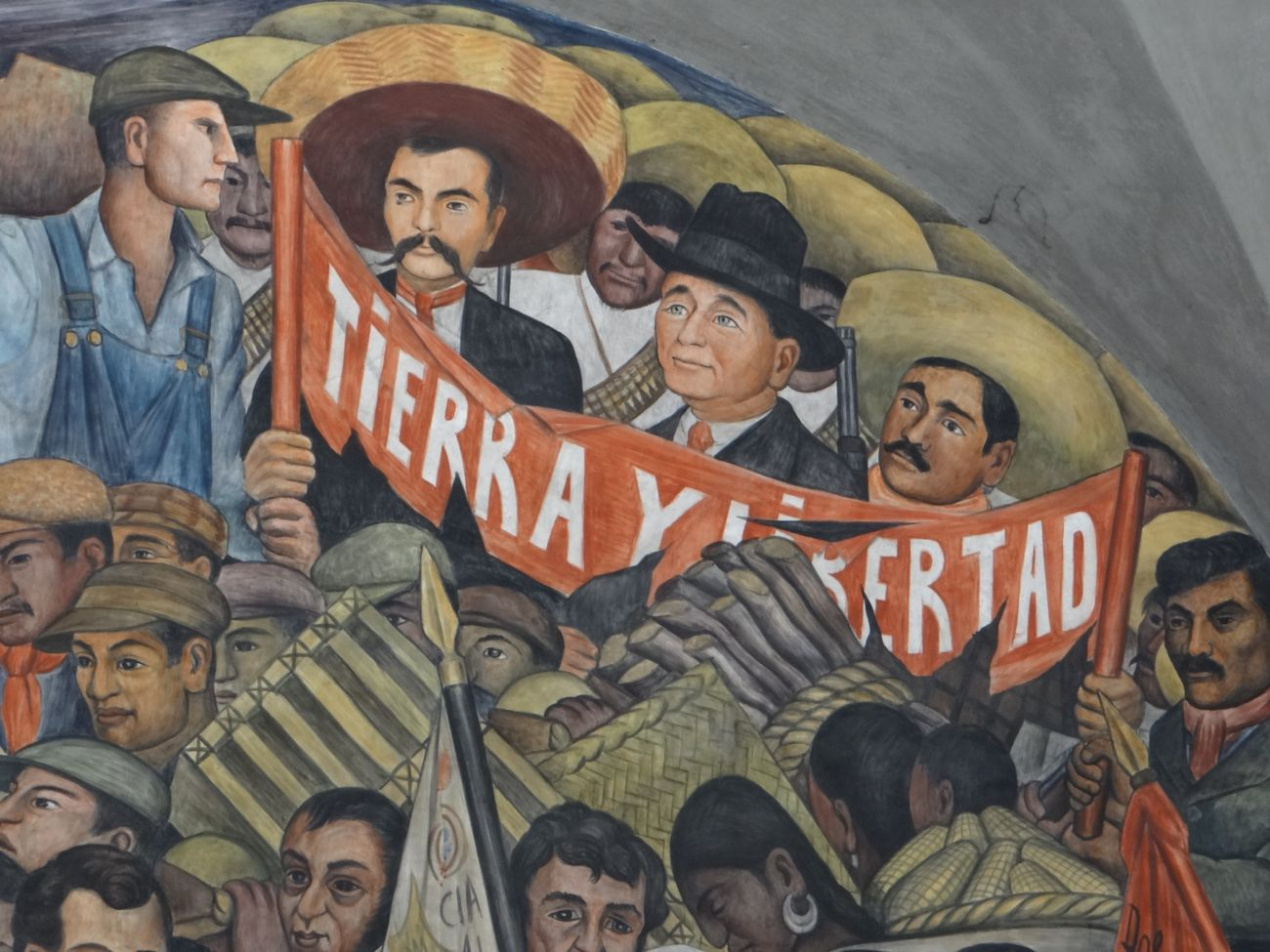 Diego Rivera, The History of Mexico, 1929 35. National Palace, Città del Messico