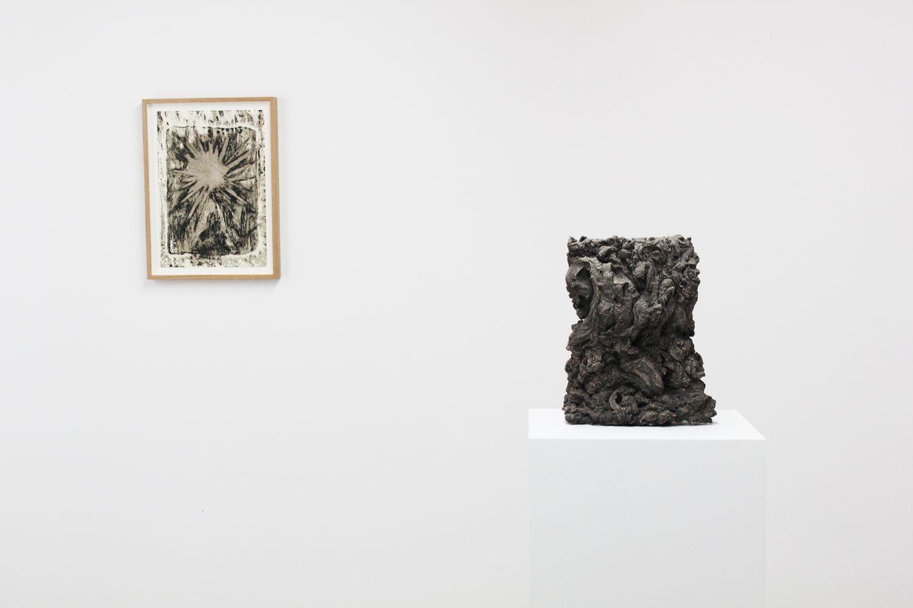 Emauele Becheri, Stati d'animo, 2019, installation view. Courtesy l'artista e Galleria FuoriCampo, Siena