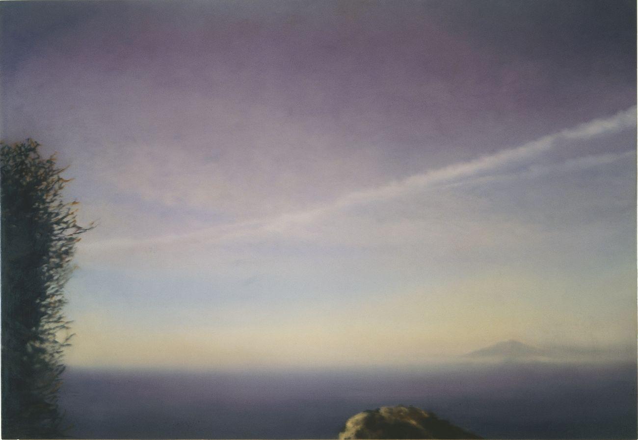 Gerhard Richter, Vesuvius, 1976. The Long View Legacy Trust, LLC © Gerhard Richter 2019