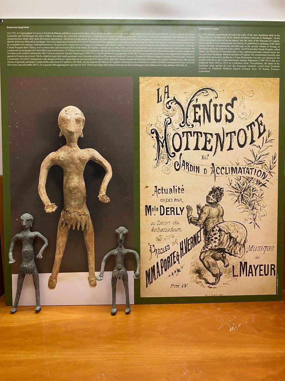 Gli idoli bugiardi. Museo Arborense, Oristano