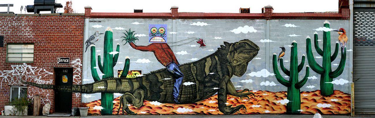 Iena Cruz, Iguana, 2012, 274 Scholes Street, New York. Photo courtesy of the artist