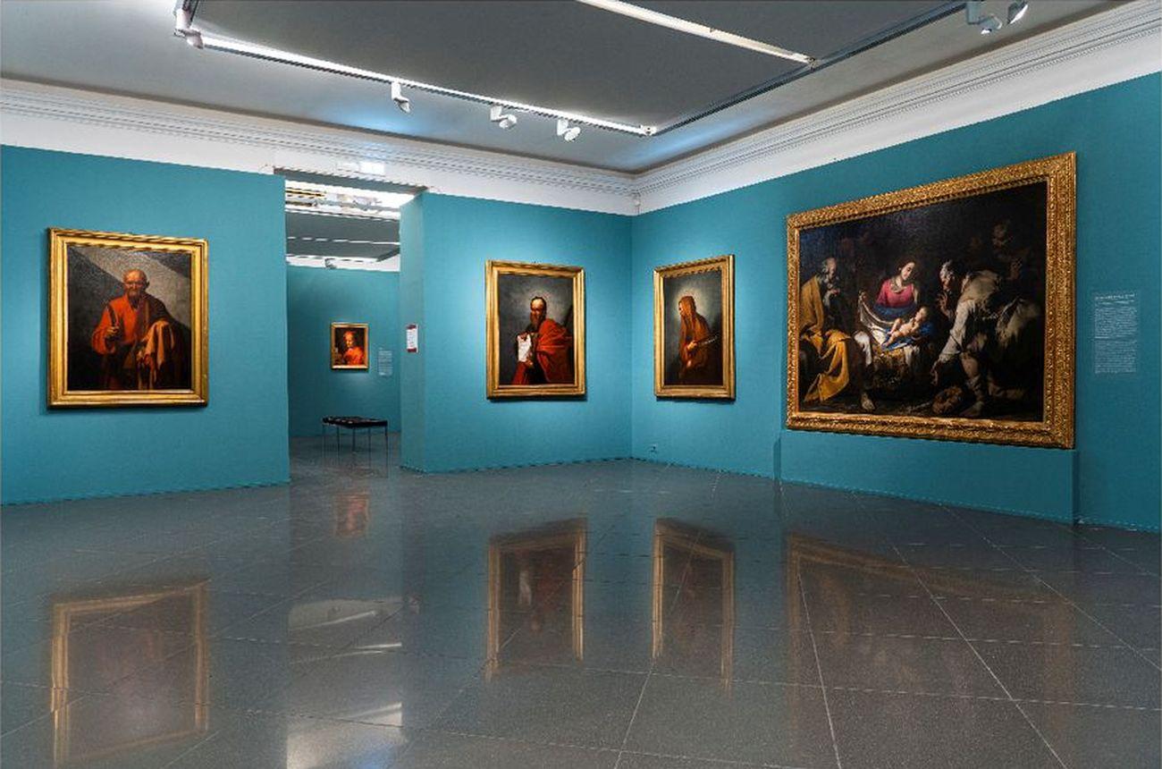 Il tempo di Caravaggio. Installation view at Palazzo Caffarelli, Roma 2020