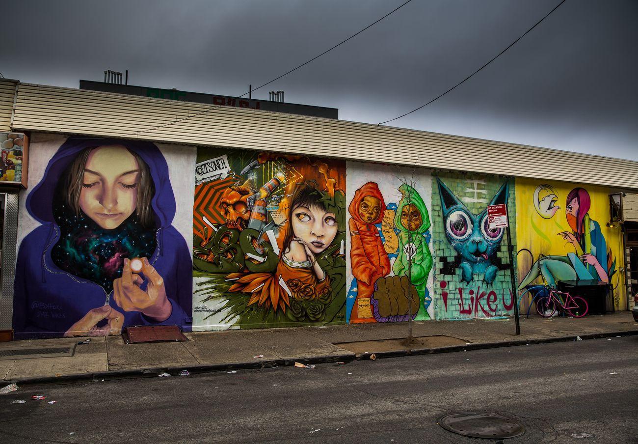 JMZ Walls, 180 Union Avenue, New York. Photo courtesy www.jmzwalls.com