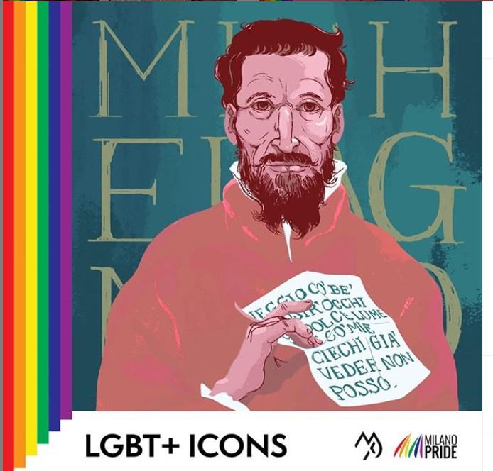 LGBT+ Icons Michelangelo Buonarroti