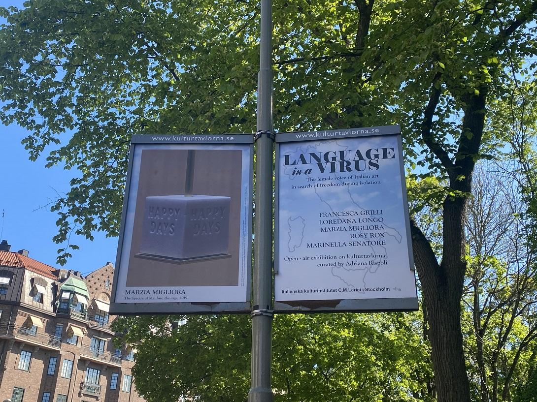 Language is a Virus, Stoccolma