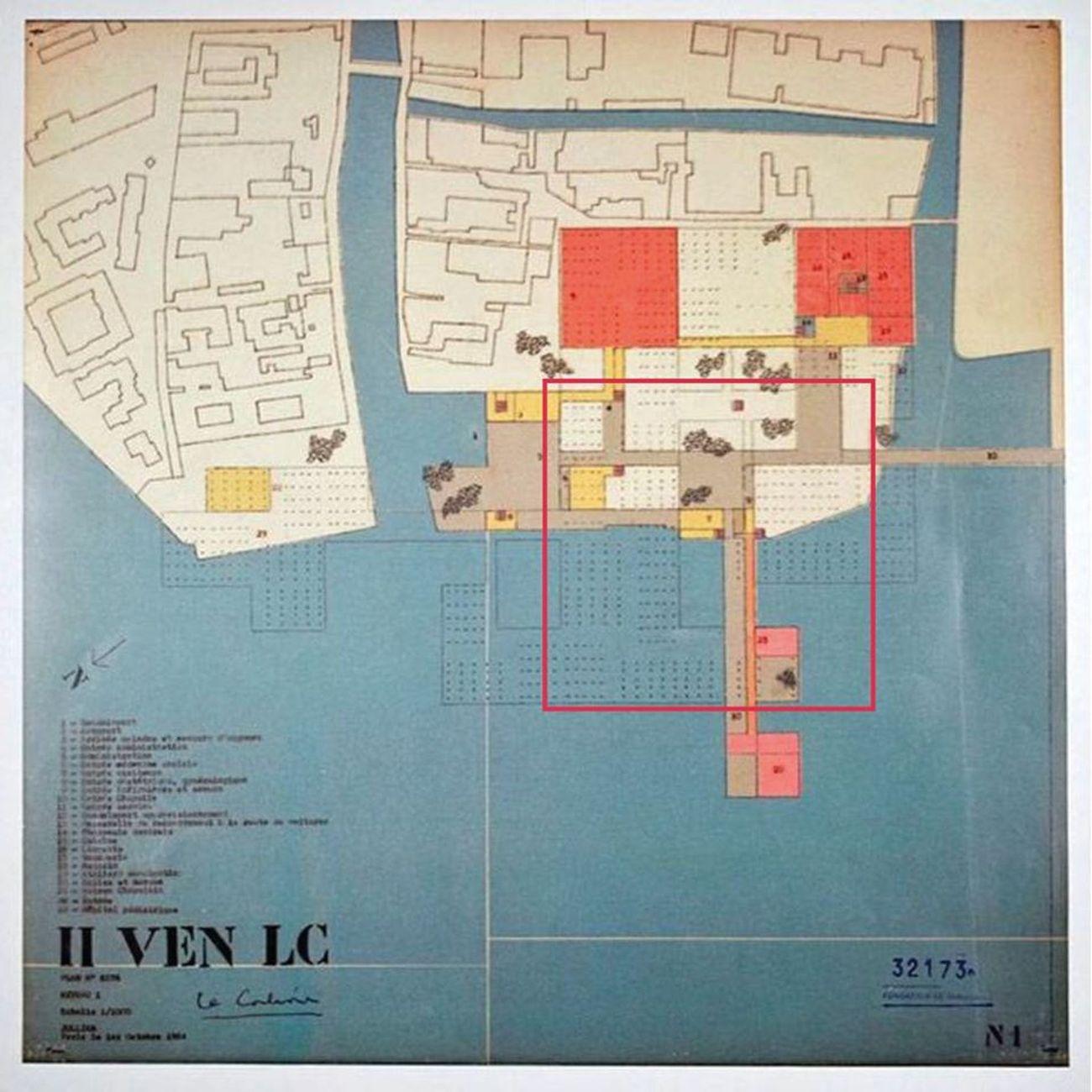 Le Corbusier, Proposta per l'ospedale di Venezia presso San Giobbe, 1964 (raccontata da Stefano Martorelli). Courtesy Circolo del Design di Torino