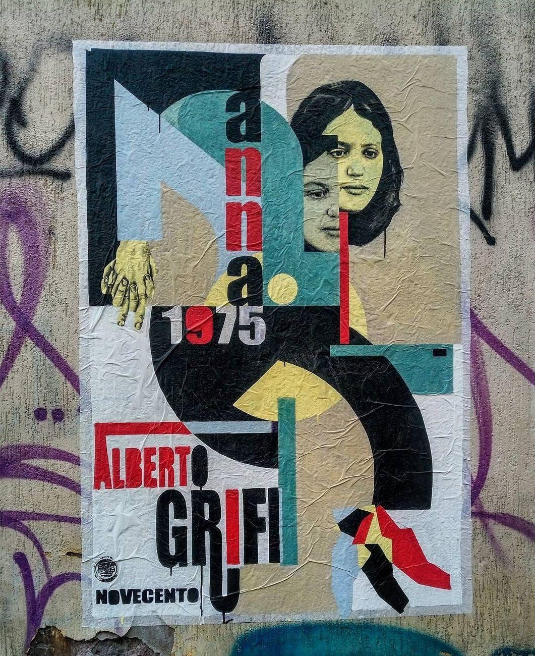 Leonardo Crudi, Anna di Alberto Grifi, 2017, manifesto