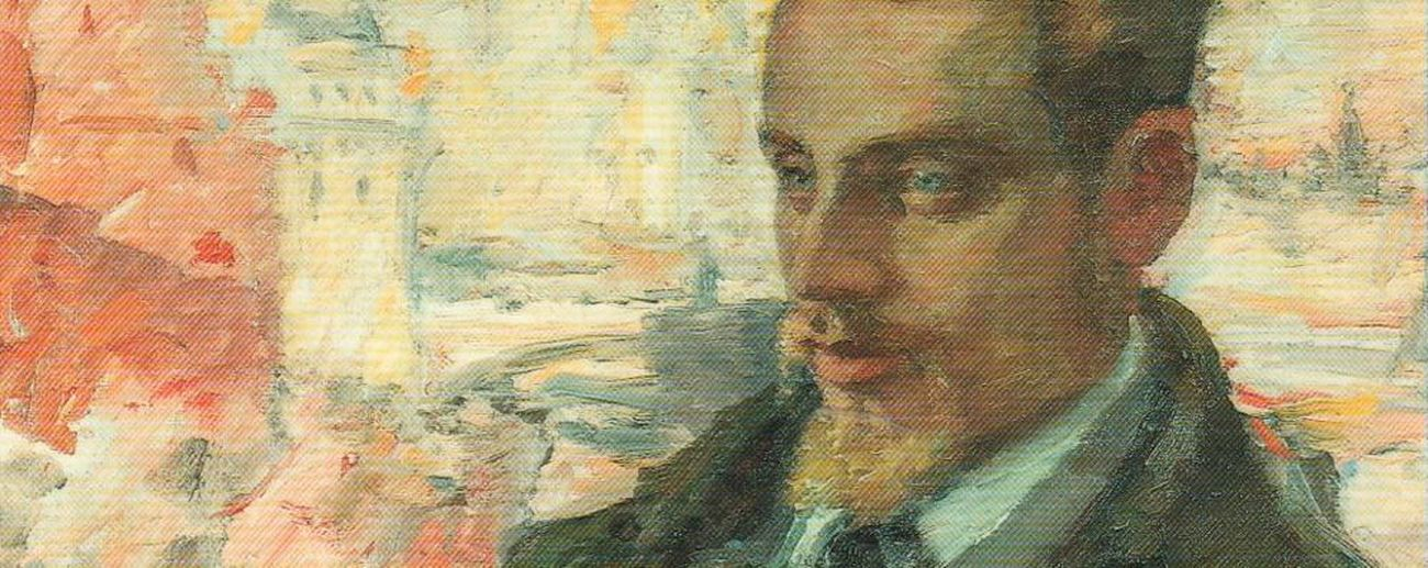 Leonid Osipovič Pasternak, Rainer Maria Rilke a Mosca, 1928, particolare