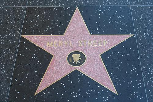 Stella di Meryl Streep sulla Hollywood Walk of Fame, Los Angeles