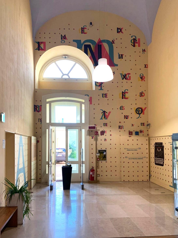 Museo Fabbrica delle Parole, Lecce ph. Matteo Bagnai