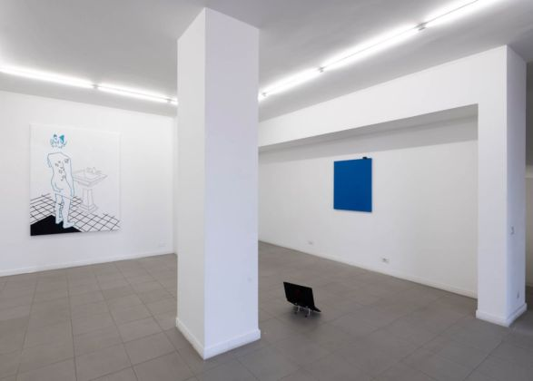 My life as yours. Installation view at The Gallery Apart, Roma 2020. Courtesy of the artist and The Gallery Apart. Photo Giorgio Benni