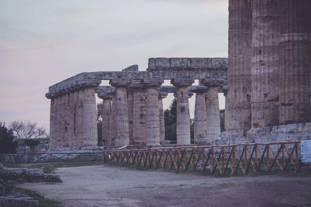 Paestum, veduta del Parco Archeologico. Photo Massimo Listri