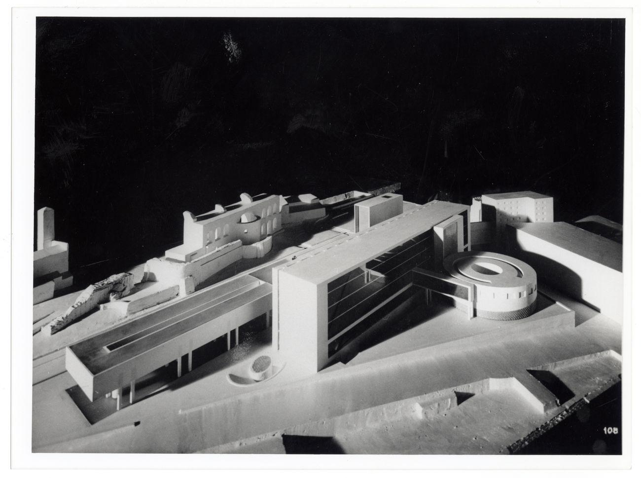 Pollini e Figini con BBPR e A. Danusso, Concorso per il Palazzo del Littorio 1934, veduta del modello. Mart, Archivio del '900, Fondo Figini Pollini