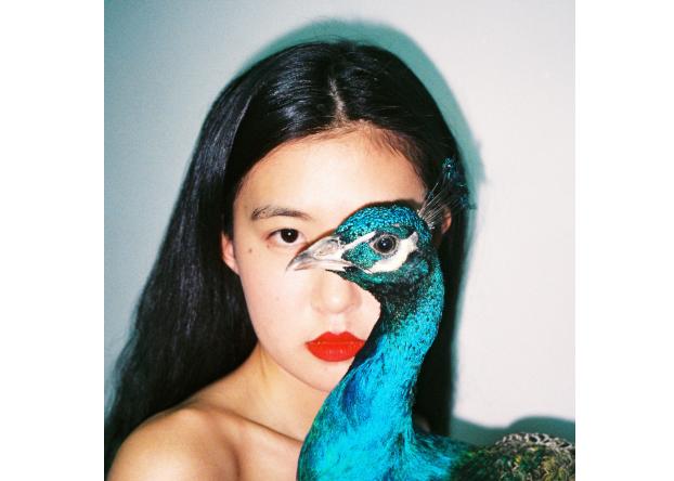 Ren Hang, Peacock, 2016. Courtesy Stieglitz19 and Ren Hang Estate
