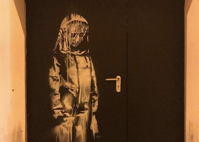 L'omaggio di Banksy alle vittime del Bataclan - dalla pagina Instagram di Banksy