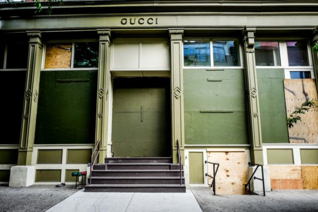 SoHo, New York, 3 giugno 2020. Photo © Francesca Magnani