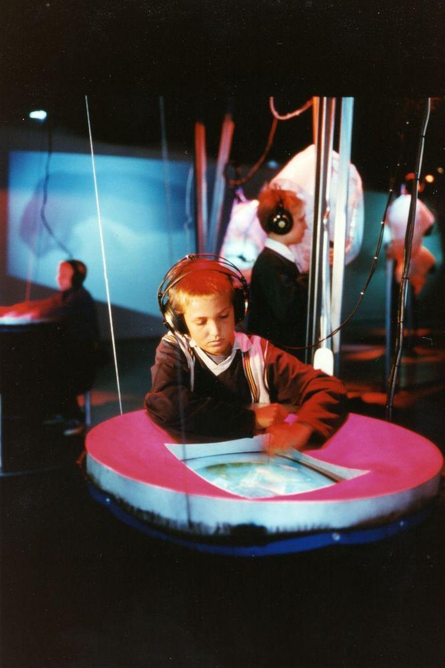 Tod Machover, Brain Opera, 1996. Courtesy Ars Electronica
