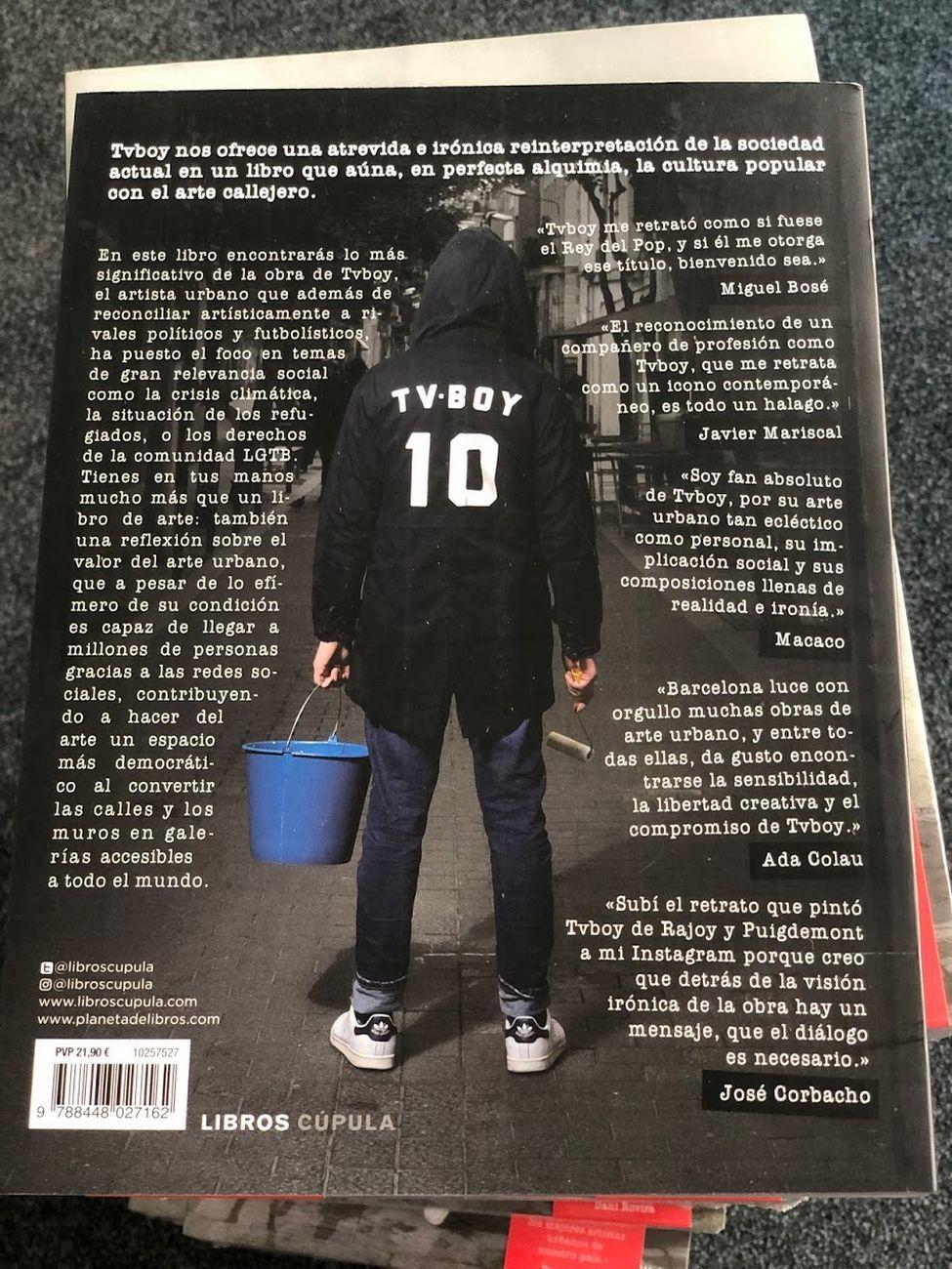 Tvboy – La calle es mi museo (Libros Cúpula, Barcellona 2020)