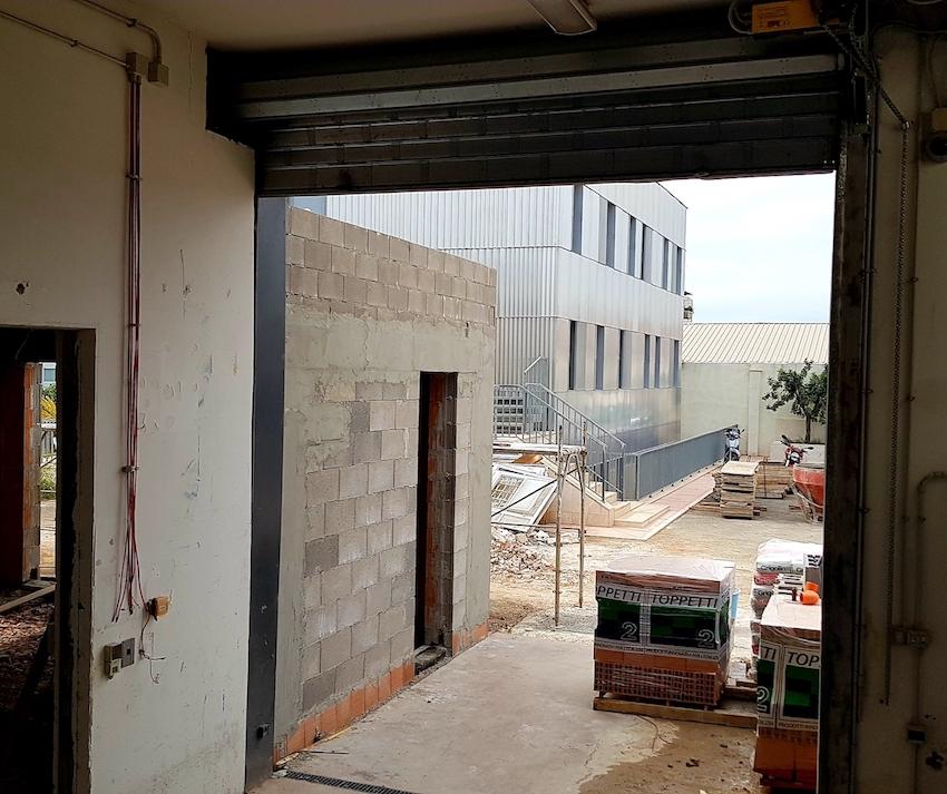 Hub Roma, cantiere in progress - foto ©IT'S