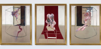 Francis Bacon Triptych Inspired by the Oresteia of Aeschylus, Bacon: © The Estate of Francis Bacon. All rights reserved. / DACS, London / ARS, NY 2020