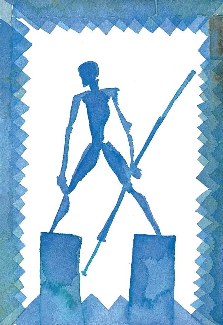 Mimmo Paladino, Invenzione di Don Chisciotte