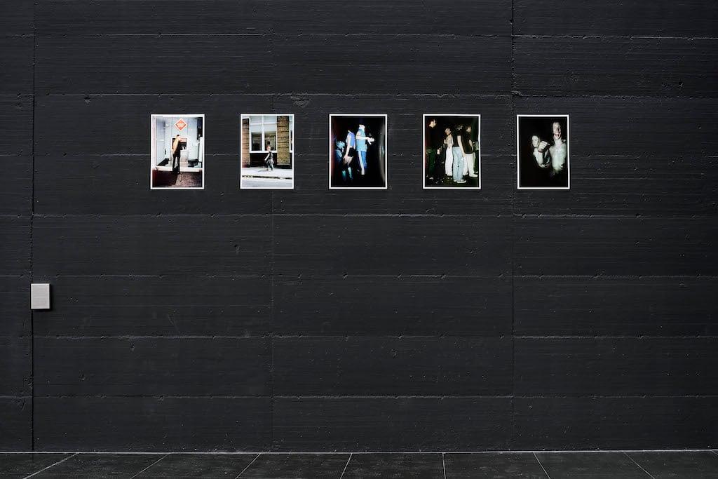 Henry Bond,The Cult of the Street, 1998. Installation view at Museoper l'Immaginazione Preventiva—EDITORIALE, Macro, Roma 2020. Courtesy MACRO— Museo d'Arte Contemporanea di Roma. Photo Giovanni Apa