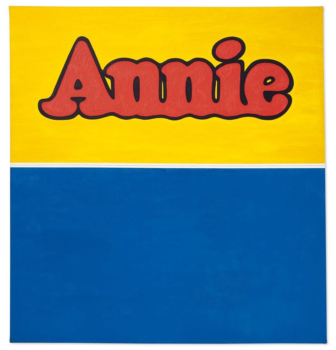 Ed Ruscha, Annie