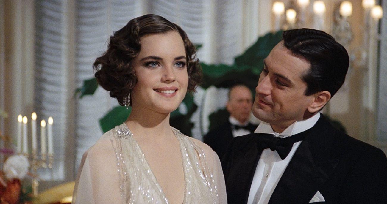 Elizabeth McGovern e Robert De Niro in C'era una volta in America. C'era una volta Sergio Leone, Museo dell'Ara Pacis, Roma 2020