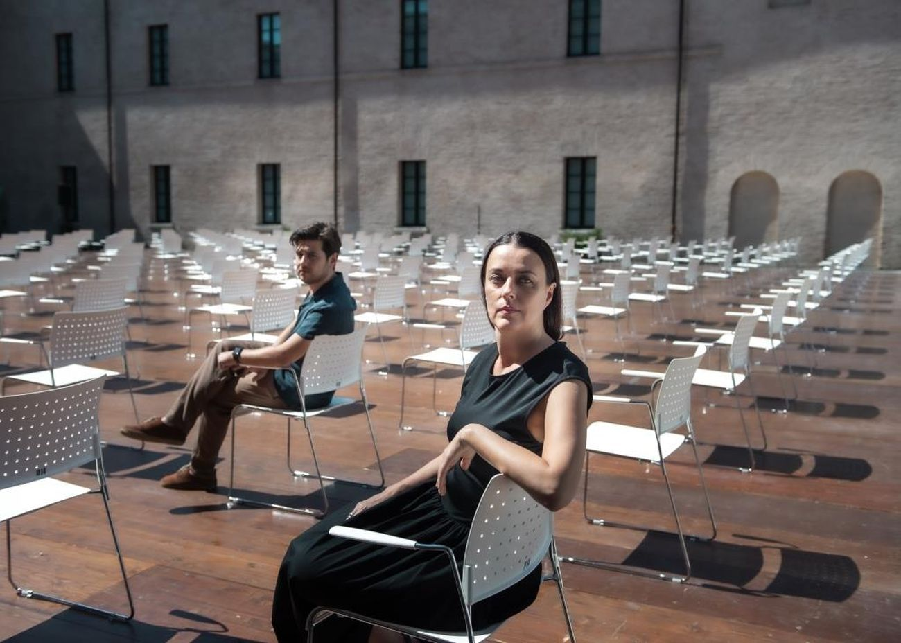 Francesca Leoni e Davide Mastrangelo. Courtesy Ibrida Festival