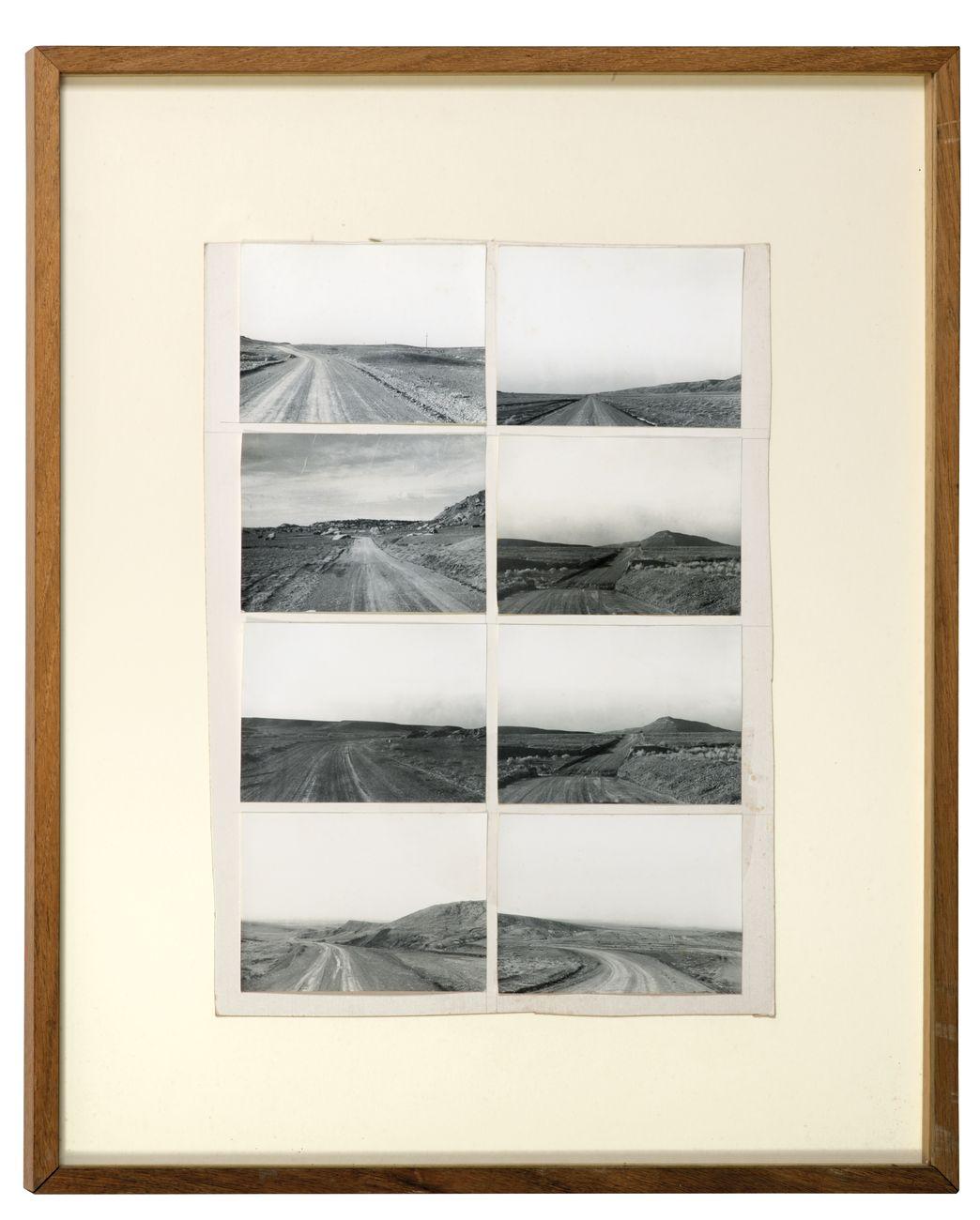 Gianni Pettena, About Non-Conscious Architecture, 1972-73. 8 stampe fotografiche su cartoncino vintage. Esemplare unico